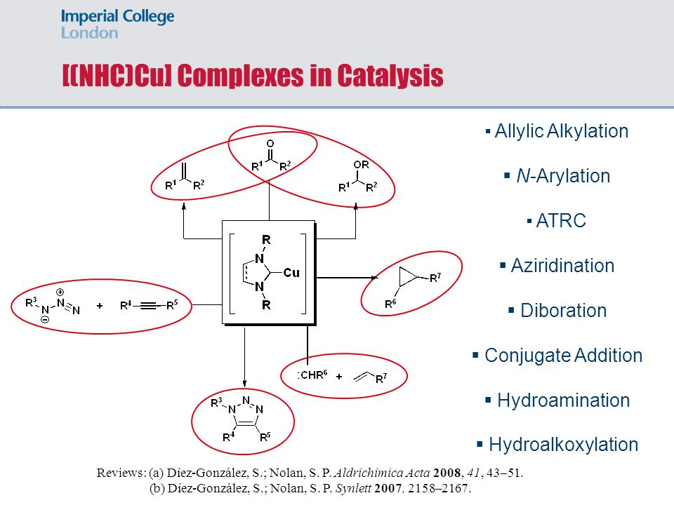 [(NHC)Cu] Complexes in Catalysis